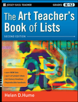 Hume, Helen D. - The Art Teacher's Book of Lists, ebook