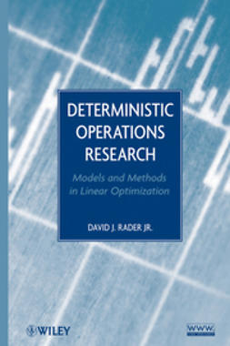 Rader, David J. - Deterministic Operations Research: Models and Methods in Linear Optimization, e-bok