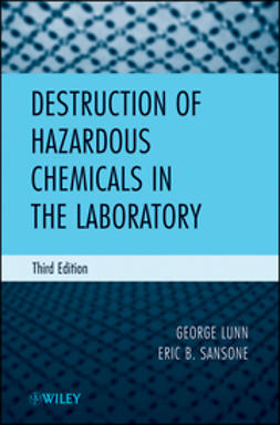 Lunn, George - Destruction of Hazardous Chemicals in the Laboratory, ebook