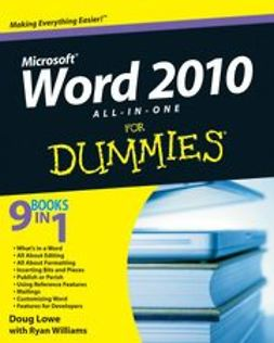 Lowe, Doug - Word 2010 All-in-One For Dummies<sup>®</sup>, ebook