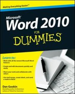 Gookin, Dan - Word 2010 For Dummies<sup>&#174;</sup>, ebook