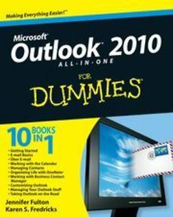 Fulton, Jennifer - Outlook 2010 All-in-One For Dummies<sup>&#174;</sup>, ebook