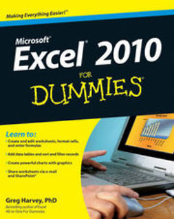 Harvey, Greg - Excel 2010 For Dummies<sup>®</sup>, ebook