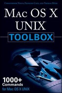 Negus, Christopher - MAC OS X UNIX Toolbox : 1000+ Commands for the Mac OS X, ebook