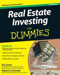 Tyson, Eric - Real Estate Investing For Dummies<sup>®</sup>, ebook