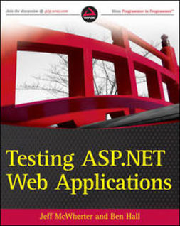 McWherter, Jeff - Testing ASP.NET Web Applications, ebook