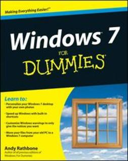 Rathbone, Andy - Windows 7 For Dummies, e-kirja