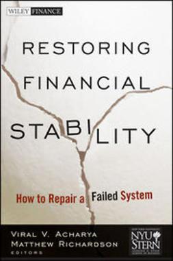 Acharya, Viral - Restoring Financial Stability: How to Repair a Failed System, e-bok