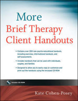 Cohen-Posey, Kate - More Brief Therapy Client Handouts, ebook