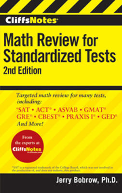 Bobrow, Jerry - CliffsNotes Math Review for Standardized Tests, ebook