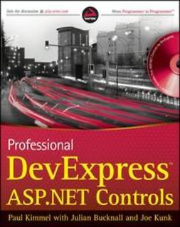 Kimmel, Paul T. - Professional DevExpress ASP.NET Controls, ebook