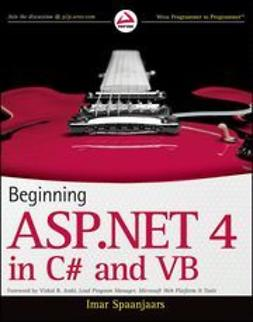 Spaanjaars, Imar - Beginning ASP.NET 4: in C# and VB, e-bok
