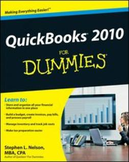 Nelson, Stephen L. - QuickBooks 2010 For Dummies, ebook
