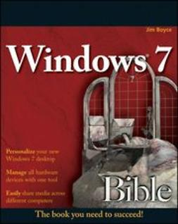 Boyce, Jim - Windows 7 Bible, ebook