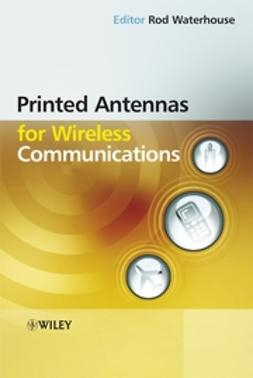 Waterhouse, Rod - Printed Antennas for Wireless Communications, ebook