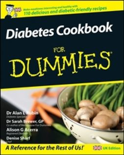 Brewer, Sarah - Diabetes Cookbook For Dummies, UK Edition, ebook