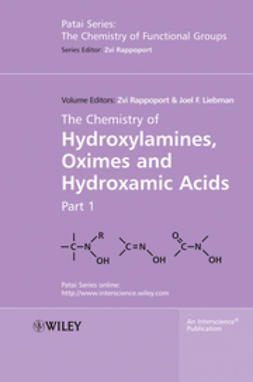 Rappoport, Zvi - The Chemistry of Hydroxylamines, Oximes and Hydroxamic Acids, ebook
