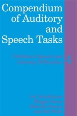 Pascoe, Michelle - Compendium of Auditory and Speech Tasks: Children's Speech and Literacy Difficulties 4 with CD-ROM, ebook