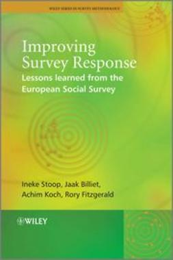 Stoop, Ineke - Improving Survey Response: Lessons Learned from the European Social Survey, ebook