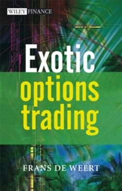 Weert, Frans de - Exotic Options Trading, ebook
