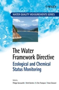 Borchers, Ulrich - The Water Framework Directive: Ecological and Chemical Status Monitoring, ebook
