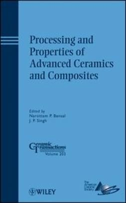 Bansal, Narottam P. - Processing and Properties of Advanced Ceramics and Composite: Ceramic Transactions, ebook