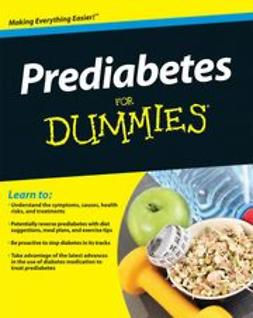 Rubin, Alan L. - Prediabetes For Dummies®, ebook