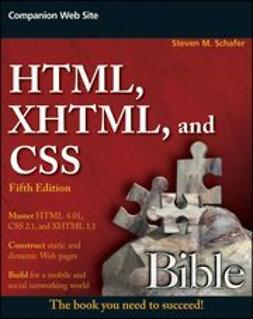 Schafer, Steven M. - HTML, XHTML, and CSS Bible, ebook