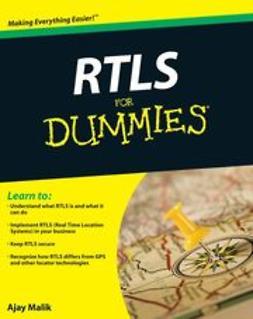 Malik, Ajay - RTLS For Dummies, e-kirja