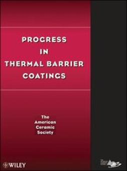 UNKNOWN - Progress in Thermal Barrier Coatings, ebook