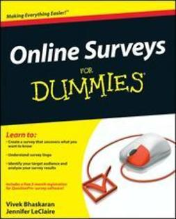 Bhaskaran, Vivek - Online Surveys For Dummies, ebook