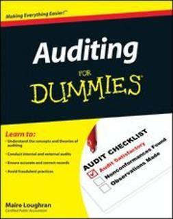 Loughran, Maire - Auditing For Dummies<sup>®</sup>, ebook