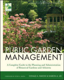 Lee, Sharon - Public Garden Management, e-kirja