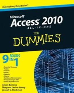 Barrows, Alison - Access 2010 All-in-One For Dummies<sup>&#174;</sup>, ebook