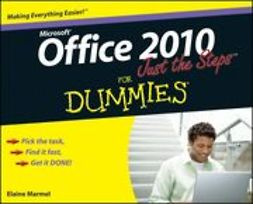 Marmel, Elaine - Office 2010 Just the Steps For Dummies<sup>&#174;</sup>, ebook