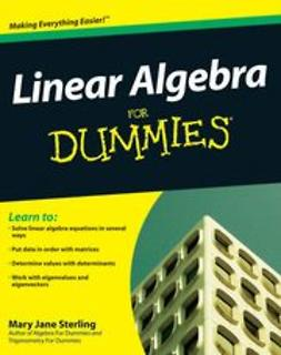 Sterling, Mary Jane - Linear Algebra For Dummies, e-kirja
