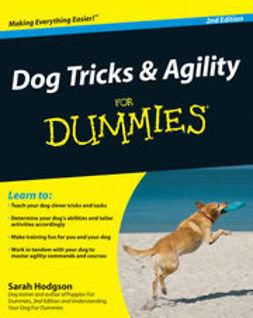 Dog tricks & agility for dummies / Sarah Hodgson