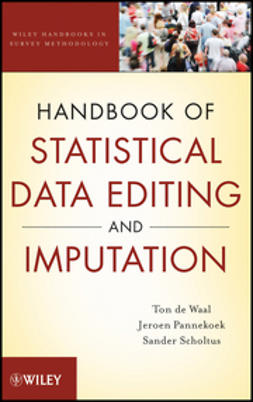 Waal, Ton de - Handbook of Statistical Data Editing and Imputation, ebook