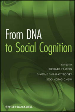 Ebstein, Richard - From DNA to Social Cognition, ebook