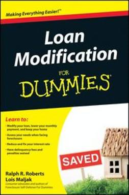 Roberts, Ralph R. - Loan Modification For Dummies, ebook