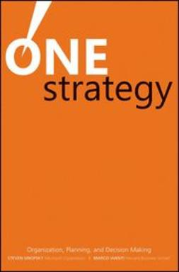 Sinofsky, Steven - One Strategy: Organization, Planning, and Decision Making, e-kirja