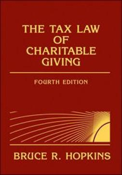 Hopkins, Bruce R. - The Tax Law of Charitable Giving, ebook