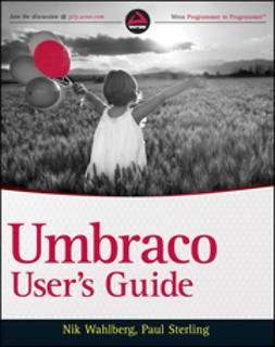 Wahlberg, Nik - Umbraco User's Guide, ebook