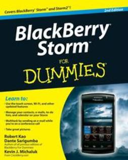 Kao, Robert - BlackBerry Storm For Dummies<sup>®</sup>, ebook