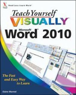 Marmel, Elaine - Teach Yourself VISUALLY Word 2010, ebook