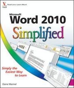 Marmel, Elaine - Word 2010 Simplified, ebook