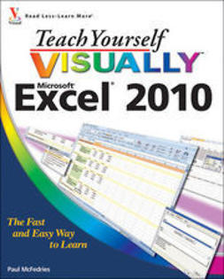 McFedries, Paul - Teach Yourself VISUALLY<sup><small>TM</small></sup> Excel<sup>&#174;</sup> 2010, ebook