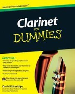 Etheridge, David - Clarinet For Dummies, e-bok