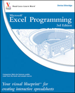 Etheridge, Denise - Excel Programming: Your visual blueprint for creating interactive spreadsheets, ebook