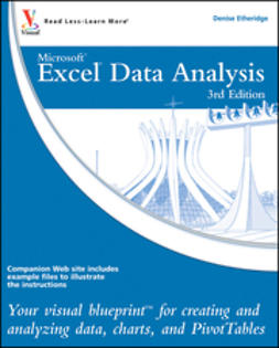 Etheridge, Denise - Excel Data Analysis: Your visual blueprint for creating and analyzing data, charts and PivotTables, ebook